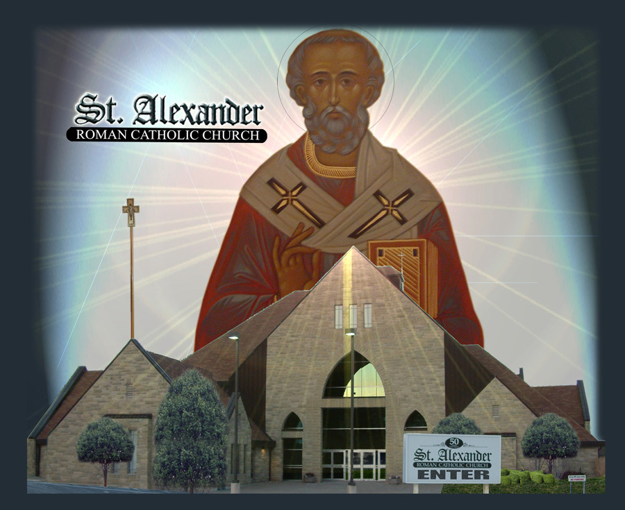Welcome to St. Alexander Church's Website